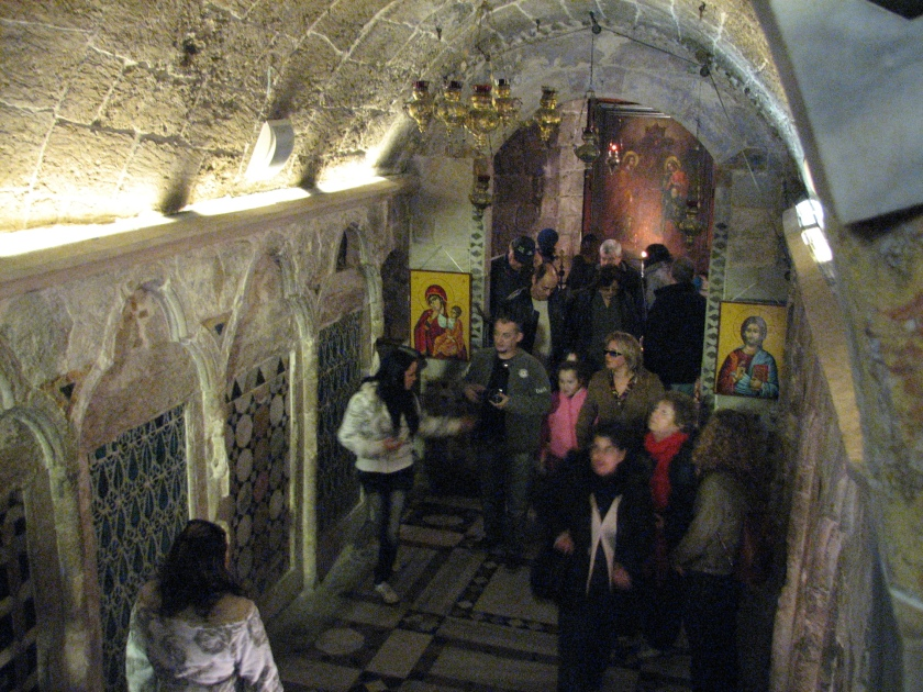 The ancient church, Orthodox, Nazareth