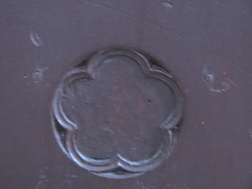 Detail on choir bench