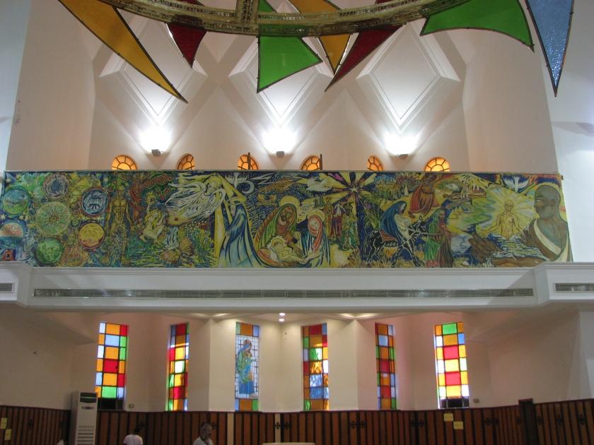 Transept Mural