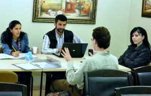 Teaching in Nazareth