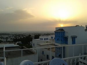 The view from Sidi Bou Said