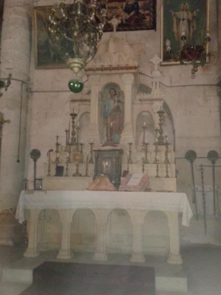 A chapel altar